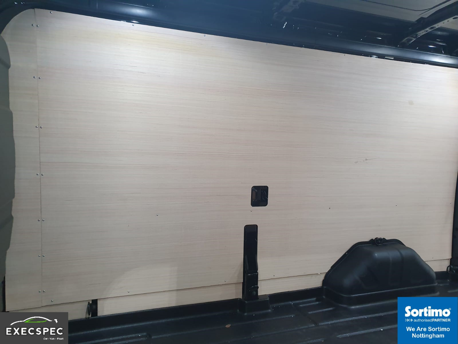 Ford Transit With Sortimo Van Racking