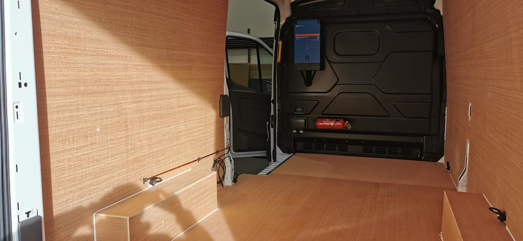 Ply Lining In the Back Of A Van