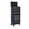 APSTACKTR TB - Topchest, Mid-Box & Rollcab Combination 14 Drawer with Ball Bearing Slides