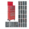 SPTCOMBO 1 - 14 Drawer Tool Chest Combination with 1179pc Tool Kit