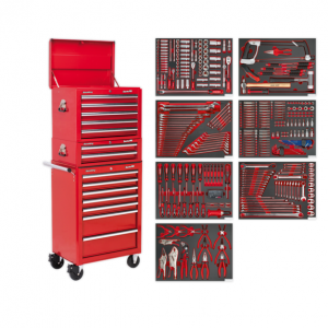 TBTPCOMBO 1 - 14 Drawer Tool Chest Combination with 446pc Tool Kit