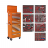 TBTPCOMBO 4 - 14 Drawer Tool Chest Combination with 446pc Tool Kit