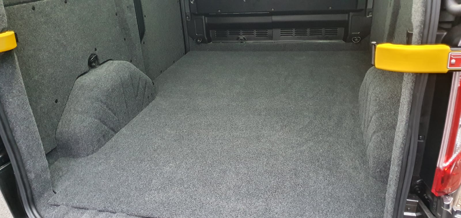 Ford Transit Custom Carpet Lining Nottingham - Ford Transit Carpet Lining Derby