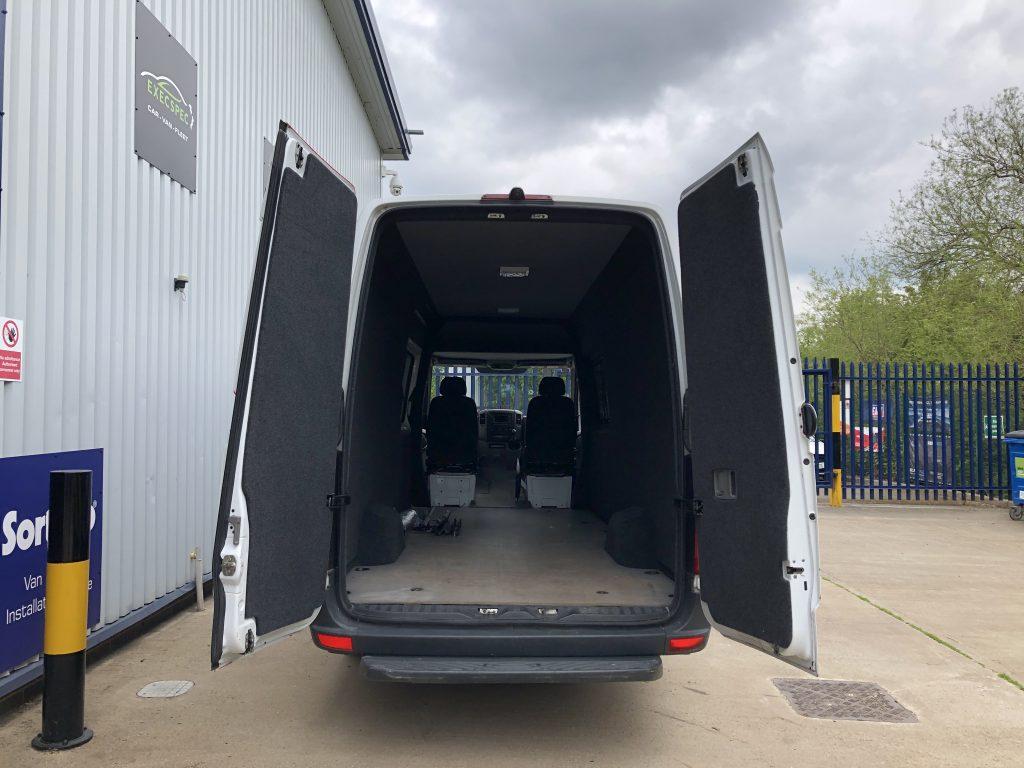 Mercedes Sprinter Carpet Lining Nottingham Derby